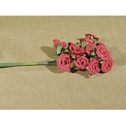 ROMANTIC ROSE ROUGE SMALL X 12