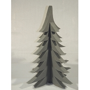 SAPIN NOEL MOUILLABLE RAINBOW ANTHRACITE 90 CM