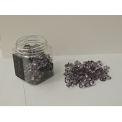 DIAMANTS ANTHRACITE 12 MM , 250 ML (BOITE)
