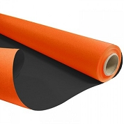 BOBINE KRAFT DUO ORANGE-NOIR 0.80 X 40M