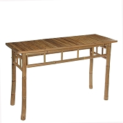 TABLE BAMBOU 120 X 50 HT 75CM