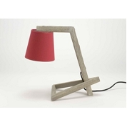LAMPE SUZANNE ROUGE