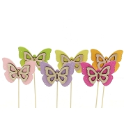 PAPILLON A PIQUER ASSORTIES X 12