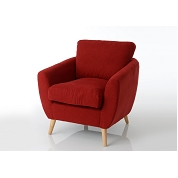FAUTEUIL DOLCE ROUGE
