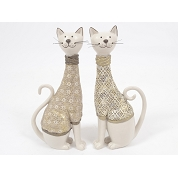 CHAT ASSIS BEIGE 28CM